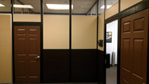 beautiful office panel system for Texas A&M university